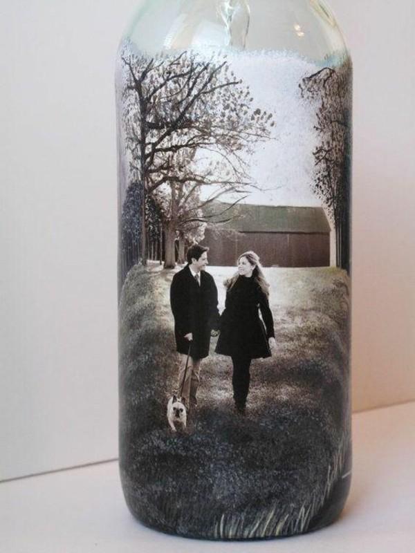 glasflasche fotogeschenke