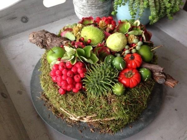 Herbstdeko Aus Naturmaterialien Selber Machen 33 Tolle Und Ganz