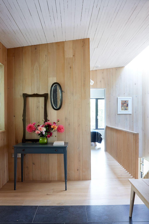 Innovatives Traumhaus im globalen ländlichen Stil für einen puren ...