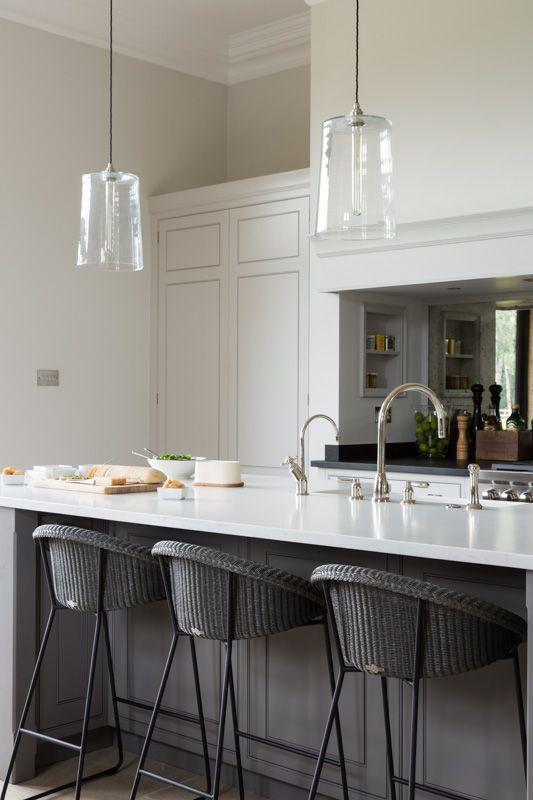 küchenarbeitsplatte in tollem grauweiß