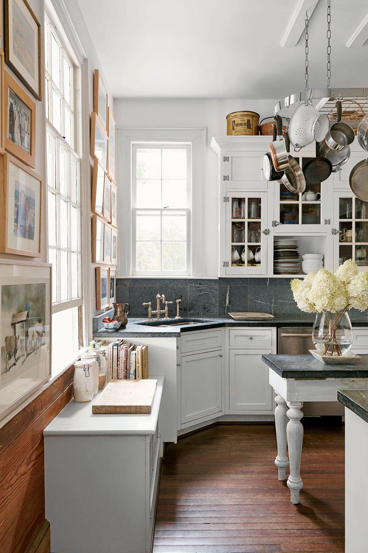 küchenarbeitsplatte in tollen neutralen schattierungen