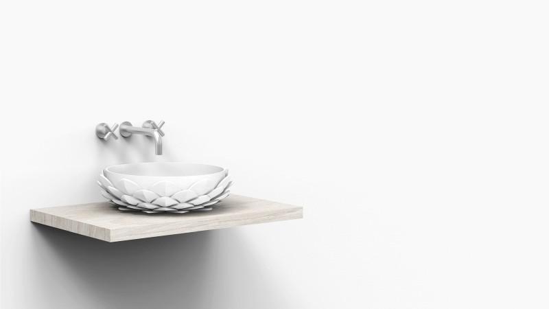 kleiner waschbecken design waschbecken