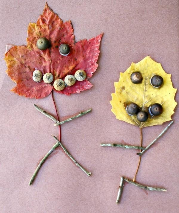 kreative herbstdeko basteln