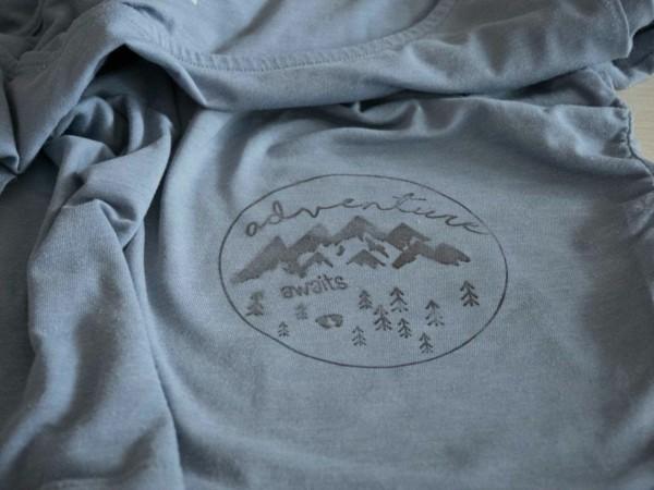 lavendeldruck t-shirt