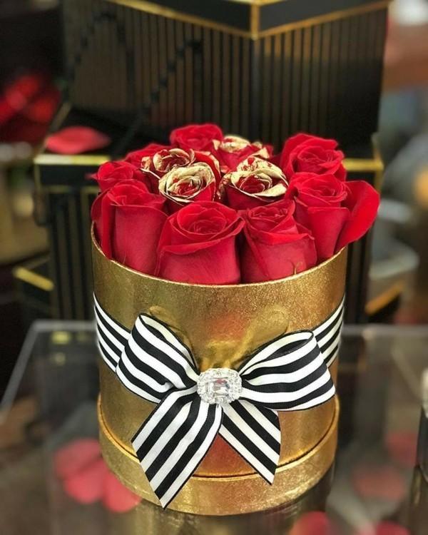 rosen konservieren geschenkidee zu valentinstag