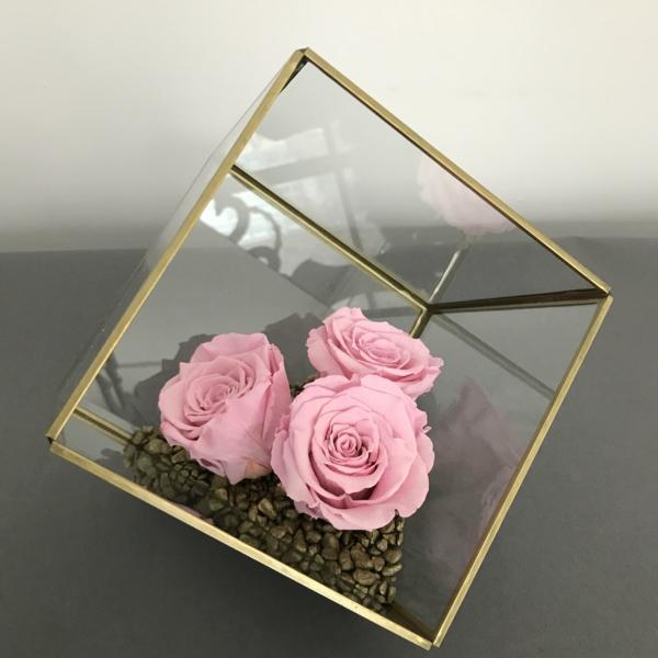 rosen konservieren originelles geschenk zum geburtstag