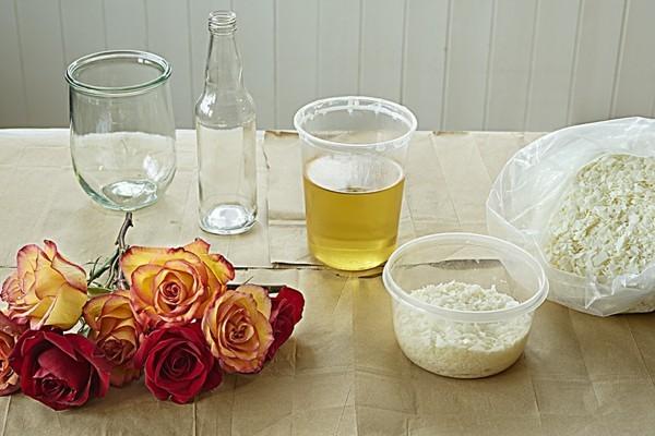 rosen konservieren soja wachs anleitung