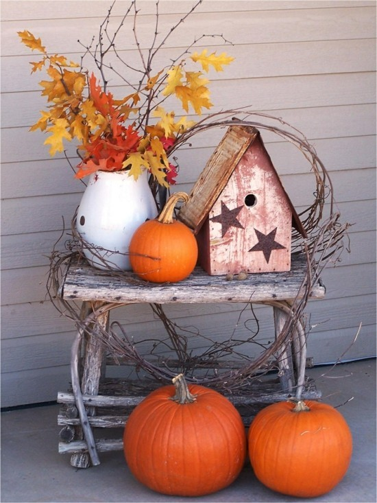 fall decorating ideas for porch Best of Outdoor Fall Decorations Awesome Fall Barrels Full Corn Stalks