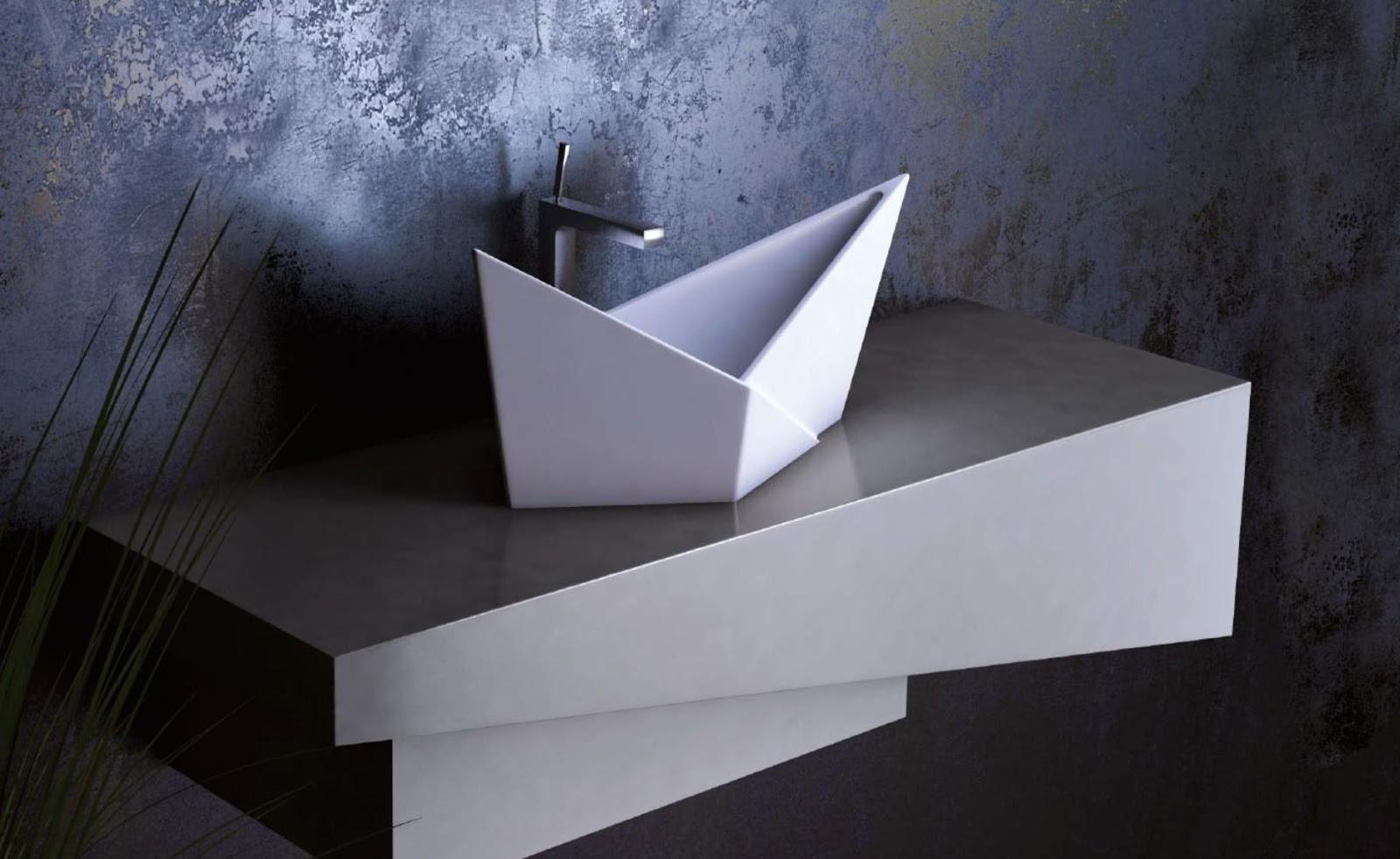tolle asymetrie design waschbecken