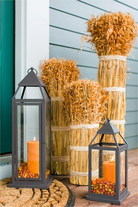 fall decorating ideas for porch Inspirational 85 Pretty Autumn Porch Décor Ideas DigsDigs