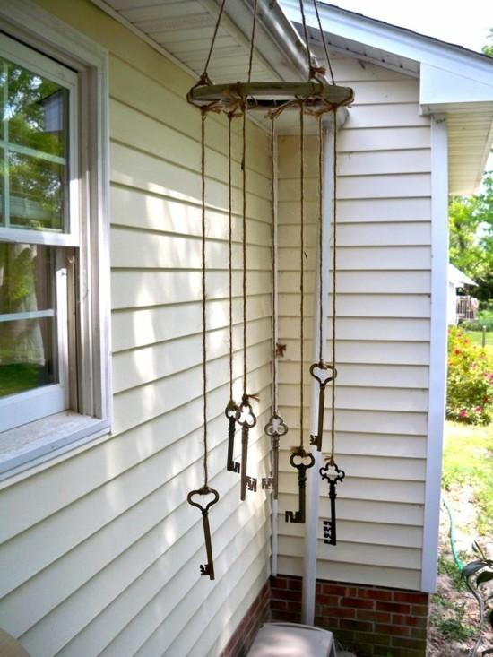 windspiel basteln 59 diy ideen mit einfachen materialien. Black Bedroom Furniture Sets. Home Design Ideas
