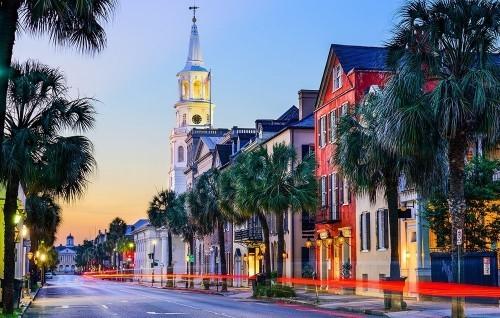 Ausgewählte Reiseziele im September Charleston South Carolina unverkennbares südliches Flair