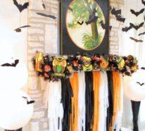 Tolle Deko Ideen zu Halloween – so setzen Sie Ihren Kaminsims in Szene