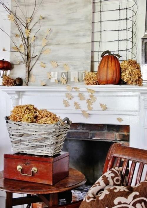 Deko Ideen zu Halloween mit den Gaben der Natur
