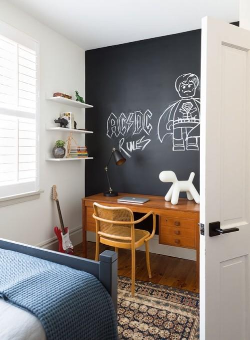 Raumgestaltung Ideen Kinderzimmer kleine Deko Elemente in Weiß