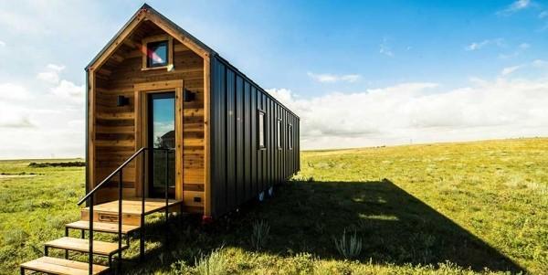 Tiny Houses kleiner wohnen inmitten der Natur einfaches Design