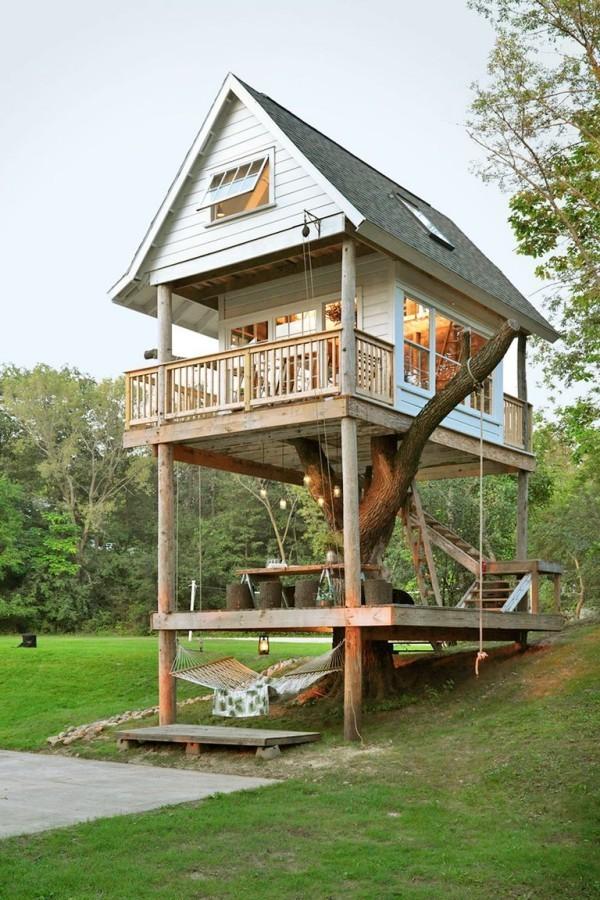 Tiny Houses zweistöckig ganz einfache Konstruktion sehr ansprechendes Design