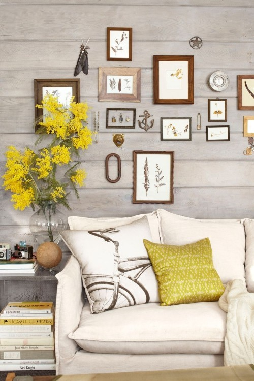 Wandbilder Wohnzimmer im Landhausstil