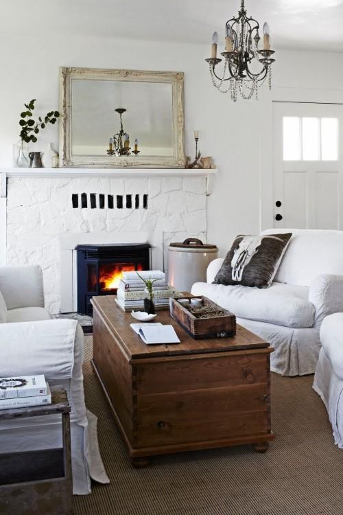 wohnzimmer im landhausstil vermitteln ruhe und geborgenheit fresh ideen f r das interieur. Black Bedroom Furniture Sets. Home Design Ideas