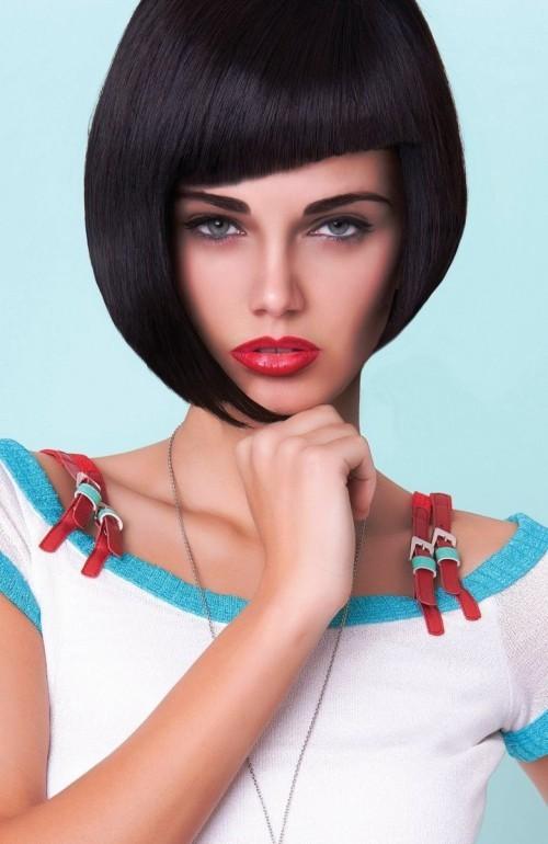 Ausgefallene asymmetrische Frisuren für mutige Damen ...