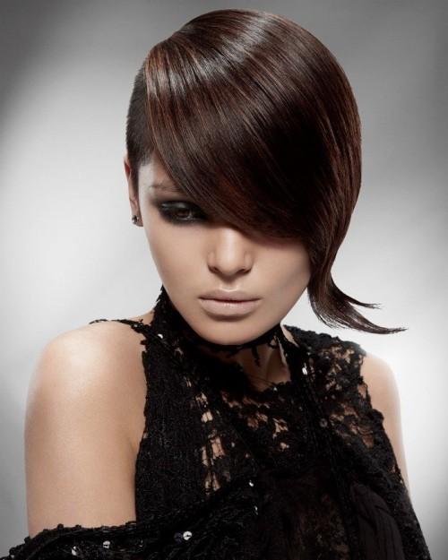 asymmetrische Frisuren spitze