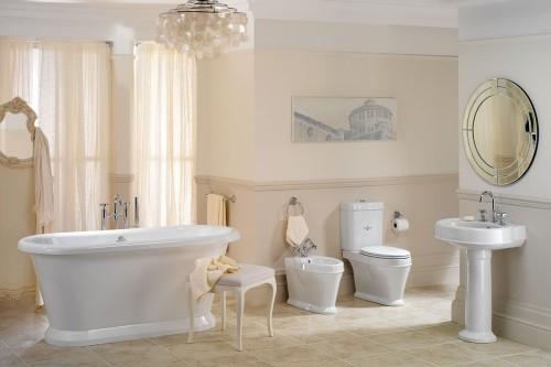 badezimmergestaltung sehr helle pastellen