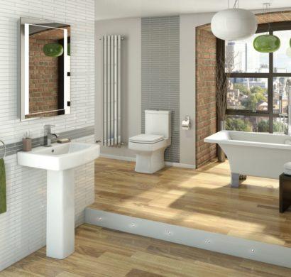 Hinreißende Badezimmergestaltung mit wohnlichem Charakter