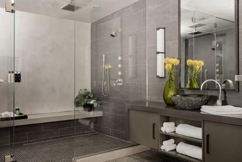 badezimmergstaltung natur ideen toll