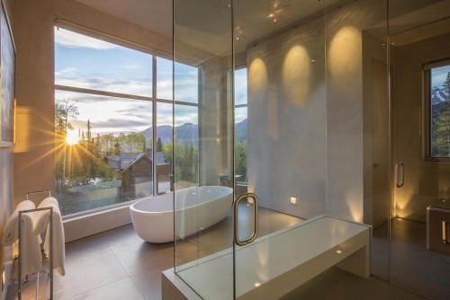 badezimmergstaltung tolle leuchten