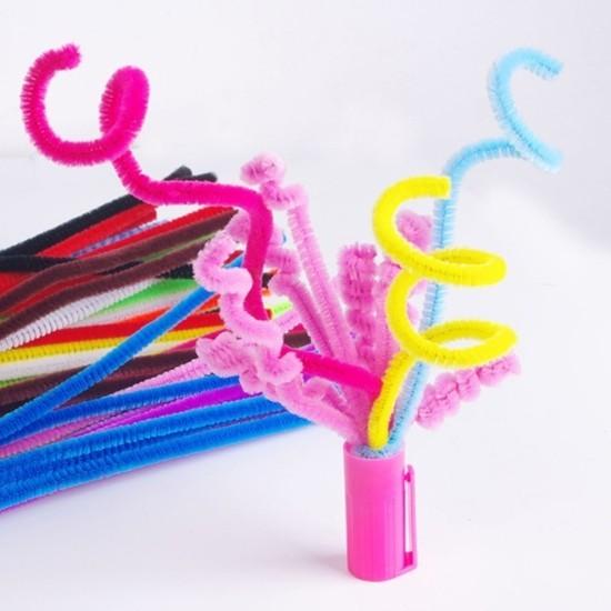 basteln mit pfeifenputzer bastelideen für kinder