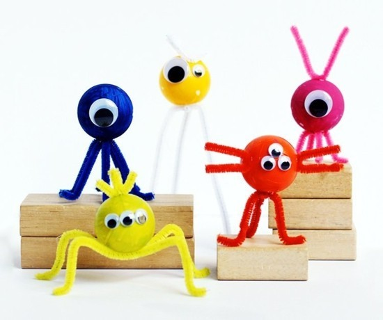 Crafting with a pipe cleaner - 60 colorful ideas for a lot of crafting fun