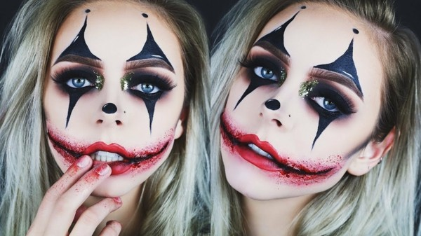 Make Up Halloween Faces 30 Simple Examples With A