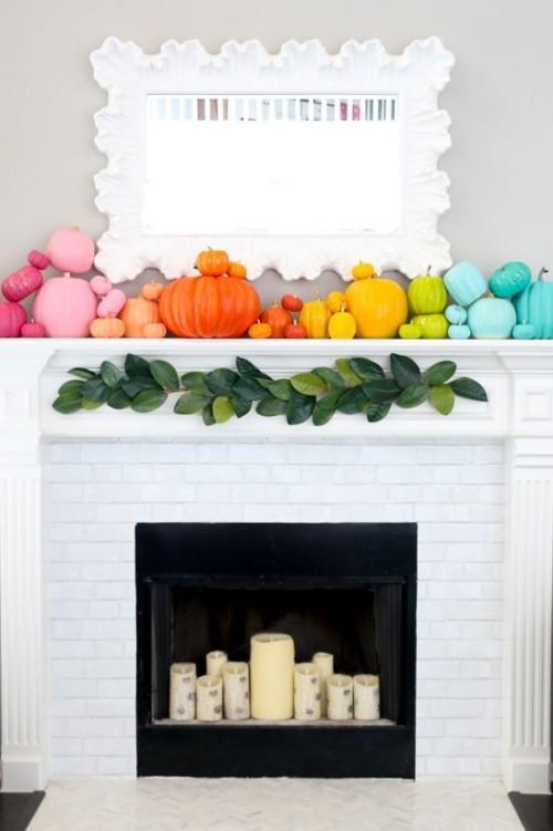 dekorieren schöne Deko Ideen für den Herbst