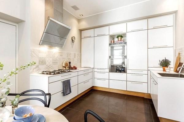 ergonomische küche einrichten im skandinavischen stil