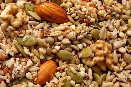 folsäure verschiedene nüsse