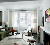 Ein einmalig kommunikativer Trend: Ovales Sofa-Design für kleine und große Räumlichkeiten