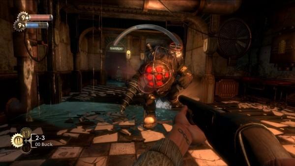 gruselige Spiele bioshock gameplay