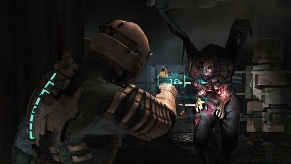 gruselige Spiele dead space gameplay