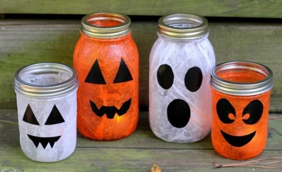 halloween einmachgläser deko