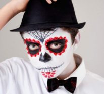 Halloween Gesichter schminken – 30 einfache Beispiele mit garantiertem Gruseleffekt