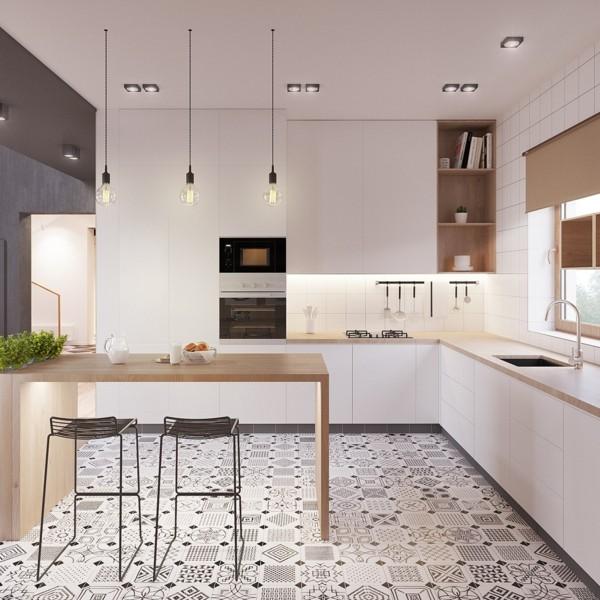 küchen einrichten scandi style