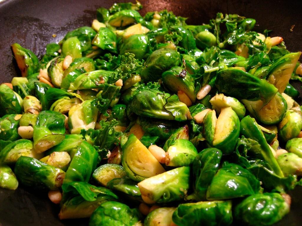 olivenöl anbraten rosenkohl gesundes essen