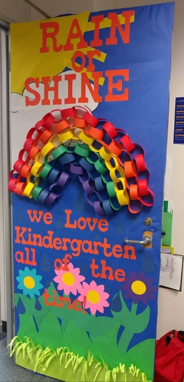 regenbogen einfall basteln mit kindern