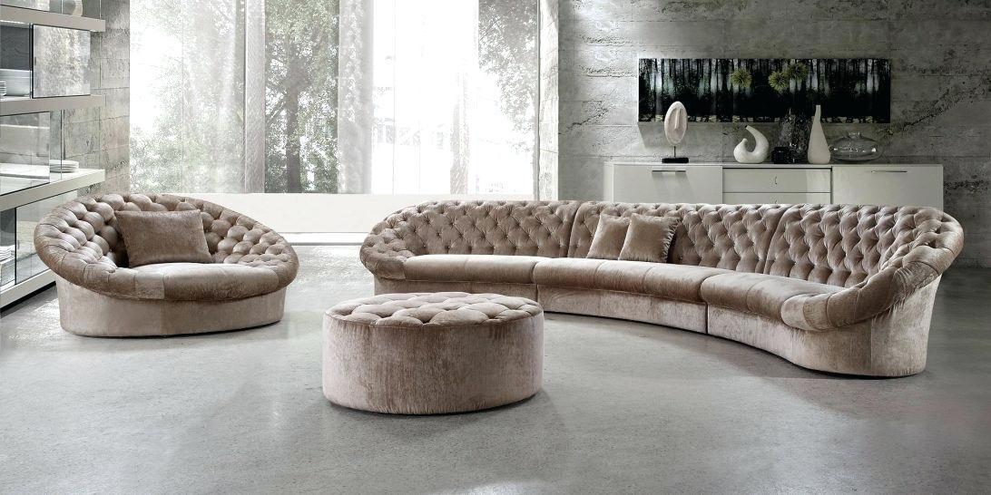 rundes sofa tolles design einrichtungsideen