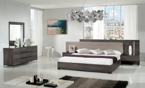 schlafzimmereinrichtung lampenschirm deko idee