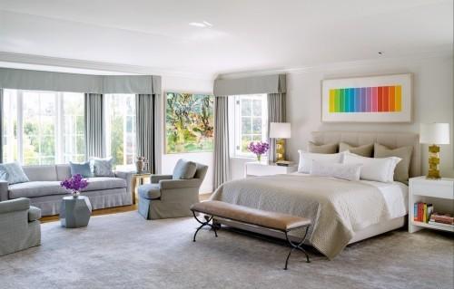Schlafzimmereinrichtung Mehrere Farben