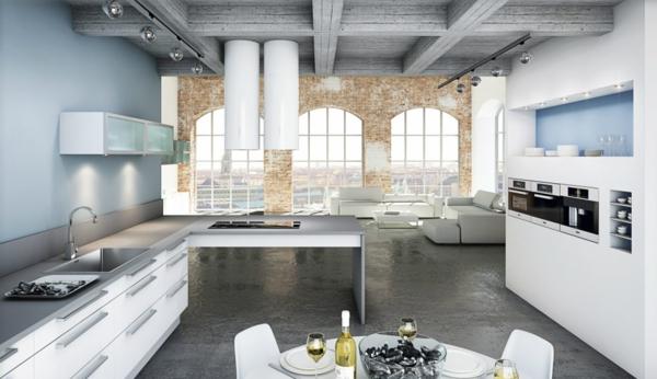 skandinavische küche einrichten modern-resized