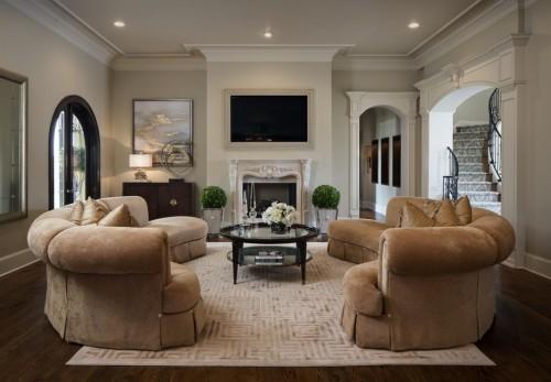 sofa design braune schattierungen