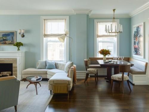 sofa design helle minze für die wand