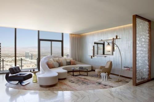 sofa design weiß und glas